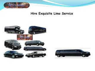 Hire Exquisite Limo Service