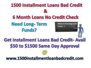 Installment Loans- Help Them Out In Financial Problems
