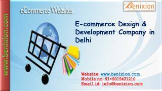 E-commerce Service in Delhi