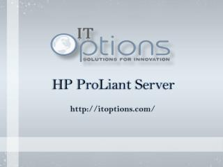 ProLiant HP Server