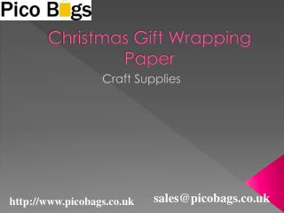 Get Festive with Christmas Colourful Wrapping paper