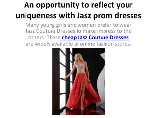 cheap Jasz Couture Dresses