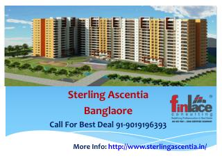 Sterling Ascentia~9019196393~Upcoming Project Bangalore