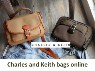 Charles and Keith bags online