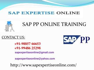 Sap Pp Online Training Classes in Us