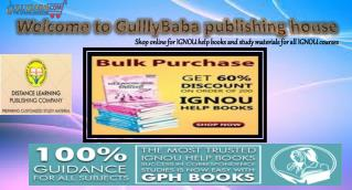 Buy Result Oriented IGNOU Help Books