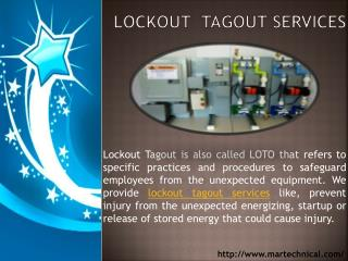 Lockout Tagout Services