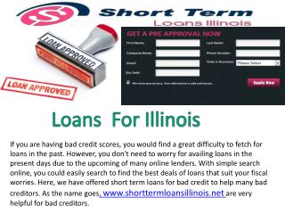 Short Term Payday loans In Illinois