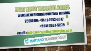 Website Design Services In India: The One best choice That S