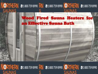 Wood Fired Sauna Heaters for an Effective Sauna Bath