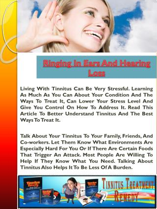 Can Hearing Aids Help Tinnitus