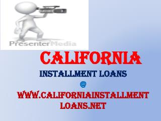 Get Quick Installment Loans For People With Bad credit