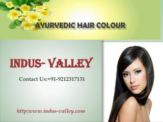 Advantages of ayurvedic Hair Colour