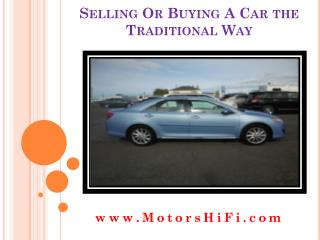 Buy Sell Cars
