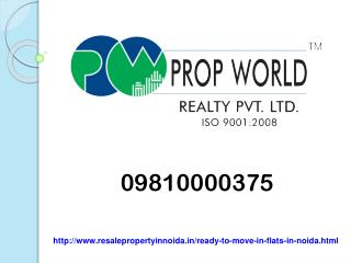 0981000375 Ready To Move Flats In Noida And Noida Expressway