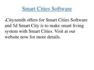 Smart Cities Software