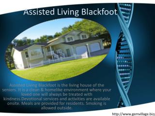Senior Care Blackfoot