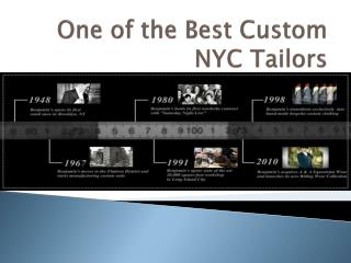 One of the Best Custom NYC Tailors