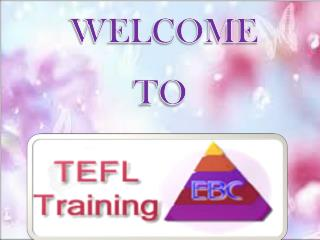 Online TEFL course with Observed Teaching Practice