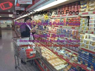 Biotechnology and Food