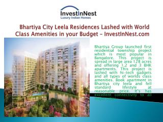 Booking Open for 1,2,3,4 BHK at Affordable Price in Bangalor