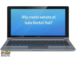 IndiaMarketHub  - Create Your Own Website
