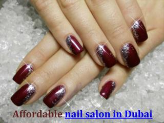 Enter the five best nail salons in Dubai