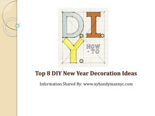 Decoration Ideas for New Year's Eve Party