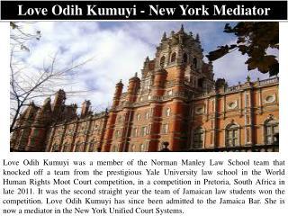 Love Odih Kumuyi - New York Mediator