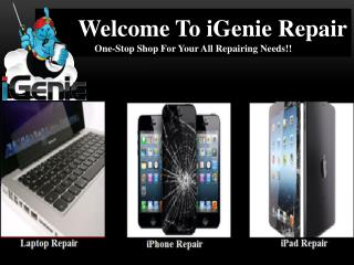 iGenie Repair one Stop Shop For Your All Repairing Needs