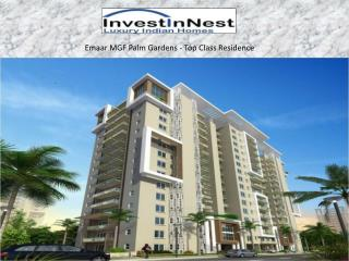 Top Class Residence By Emaar MGF Palm Gardens - InvestInNest