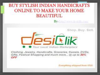 Buy Traditional Indian Handicrafts Online