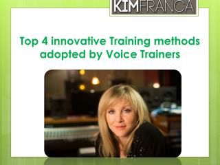 Voice Trainers