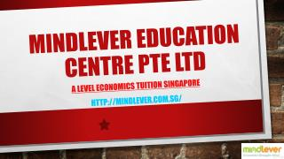 Tuition Services For A Levels