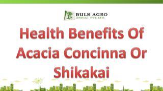 Health Benefits Of Acacia Concinna Or Shikakai