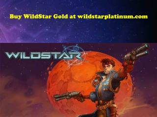 Buy WildStar Gold at wildstarplatinum.com