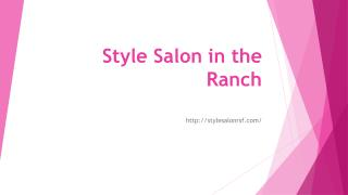 Style Salon in the Ranch
