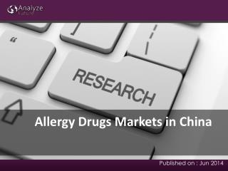 Allergy Drugs Markets Share and Forecast