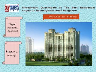 Hiranandani Queensgate  Offers Best 1, 2, 3 BHK Apartments