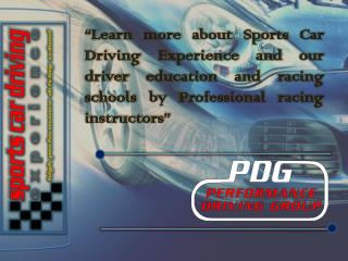 Sports Car Racing School in Florida