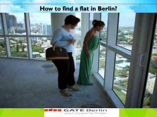 How to find a flat in Berlin?