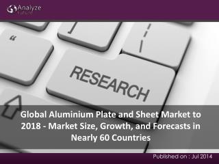 Global Aluminium Plate and Sheet Market to 2018