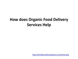 Los Angeles Organic Produce Delivery