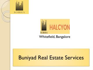 Sobha Halcyon Spacious Multi use Apartments