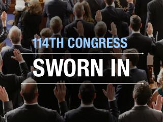 114th Congress sworn in