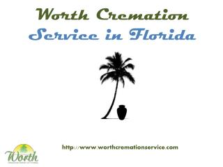 worth cremation service Florida