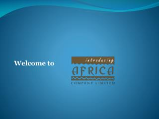 Welcome to Introducing Africa Co.Ltd