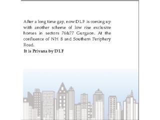 Call @ 9810100059 Privana by DLF - Presentations