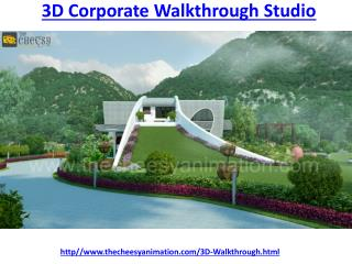 3D Corporate Walkthrough Studio