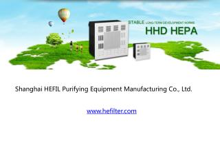 hefilter air filters products